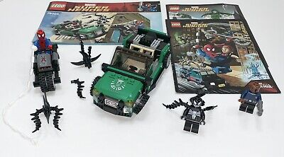 LEGO Marvel Super Heroes SPIDER-MAN SPIDER-CYCLE CHASE #76004 ~ 3 Minifigures