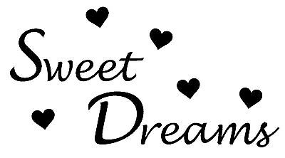 arts Wall Art, Boys/Girls Bedroom,Custom Vinyl Sticker (Sweet Dream Girls)