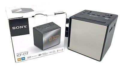 Sony ICFC1T - AM/FM Dual-Alarm Clock Radio (Black) Clock Radio ICF-C1T NEW ()