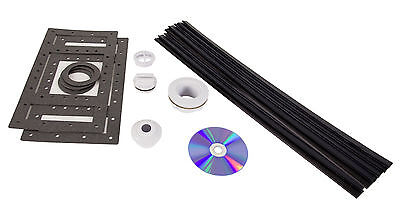Above Ground Swimming Pool Liner Installation Packet w/Gasket & Return Fittings ()