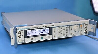 Rohde Schwartz Vector Signal Generator 9khz To 3.3ghz W Option Sml-03 Smv 03