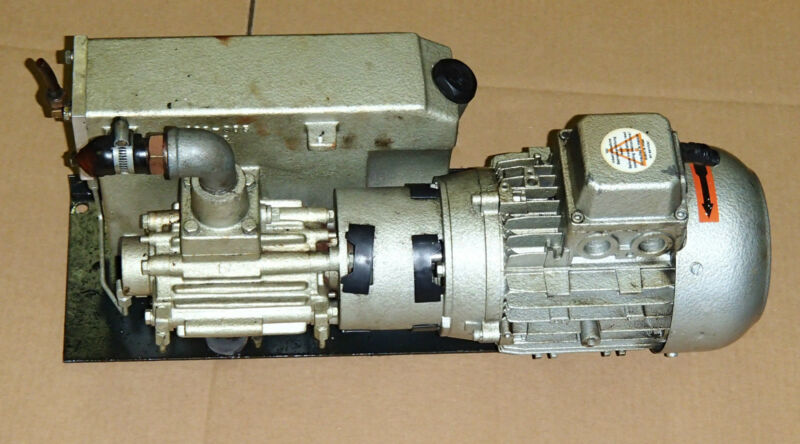 Busch Vacuum Pump_RA 0016 B 543_RA0016B543_Motor FN 80-4_Mazak Laser Path 4080