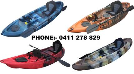 KAYAKS ON SALE!!! many models and colours. Aberfoyle Park Morphett Vale Area Preview