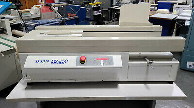 Duplo Db-250 Perfect Binder. Clean Ready For Operation
