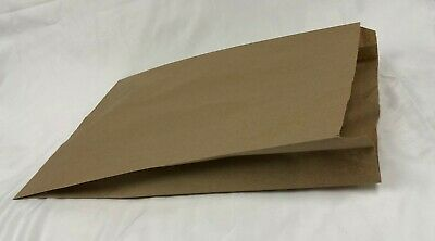 500 Natural Kraft 14x3x21 Paper Retail Merchandise Bags Grocery Shopping Bag