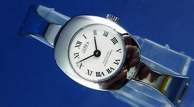 Vintage Retro Intra Mechanical Bangle Fashion Watch NOS 1960s New Old Stock