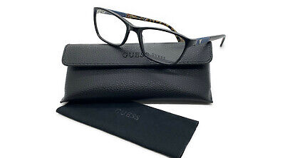 NEW Guess GU 2594 V  001mm Shiny Black Optical Eyeglasses Frames (Lense Frames Opticals)