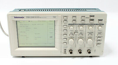 Tektronix Tds 210 60mhz 1gss 2-channel Digital Real Time Oscilloscope