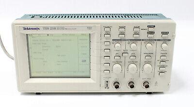 Tektronix Tds 210 60mhz 1gss 2-channel Digital Real Time Oscilloscope