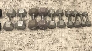 Free weights! 5lbs to 25lbs