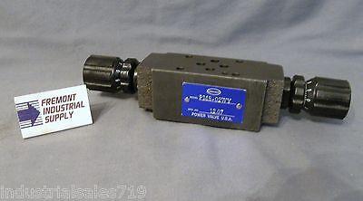 D03 Modular Hydraulic Flow Control Valve