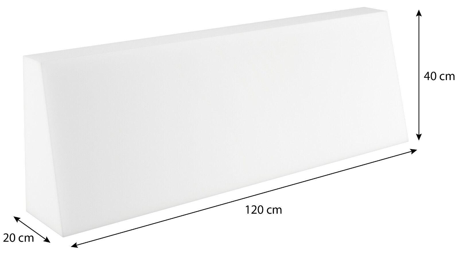 Schaumstoffplatte für Europalette Polsterauflage Matratze Zuschnitt 120x80cm Rückenkissen 120x40x20/10cm