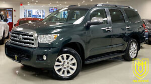 2008 Toyota Sequoia Platinum FULLY LOADED 1 OWNER NO ACCIDENT RA