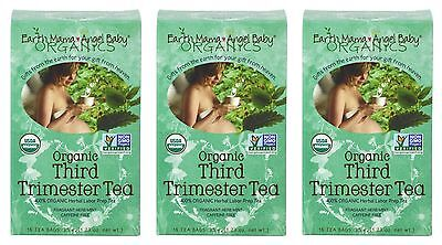 Earth Mama Angel Baby Organic Third Trimester Tea, 16 Teabags/Box (Pack of - Tea Baby