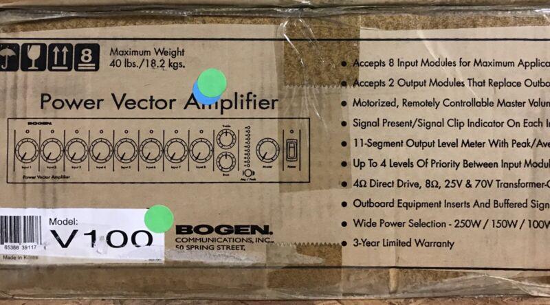 Bogen VMIX (V-100) Audio Pre Amp Mixer( Fast Shipping)
