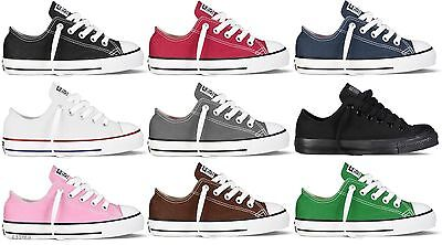 CONVERSE CHUCK TAYLOR LOW TOP CANVAS FOR KIDS SIZE 10.5 - 3  (Kids Chuck Taylor)