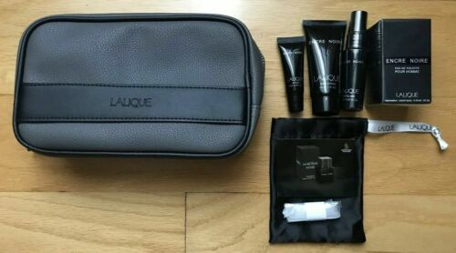 Singapore Airlines First Class Amenity Kit New Lalique Men