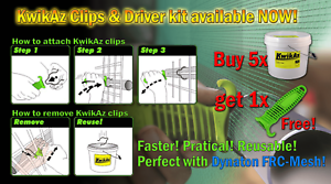 KwikAz Clips 5 bucket/20 bucket kits