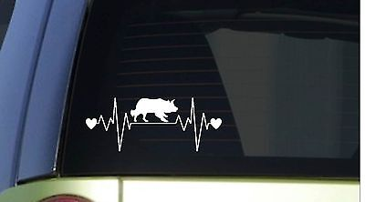 "Border Collie heartbeat lifeline *I181* 8"" wide Sticker decal"