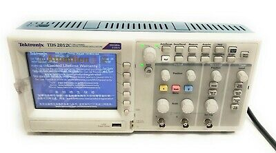 Tektronix Tds 2012c 2-channel 100mhz 2gss Digital Storage Oscilloscope