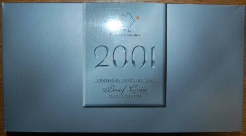 2001 AUSTRALIA CENTENARY OF FEDERATION - 20 PROOF COIN COLLECTION