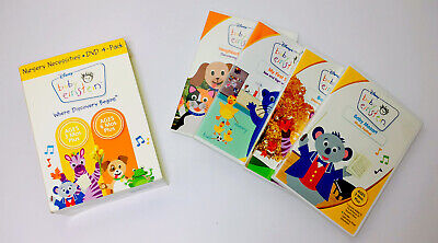 DISNEY Baby Einstein Where Discovery Begins Nursery Necessities DVD 4-Disc Set