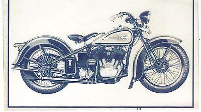 "Harley Davidson Photo Copy 4 1/2"" X 7 1/2"""