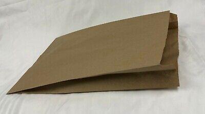 500 Natural Kraft 16x3.75x24 Paper Merchandise Bag Grocery Shopping Shopper