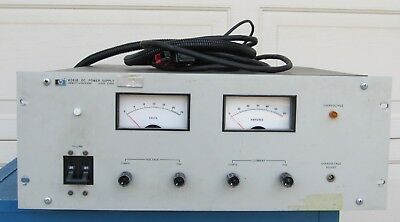 Hp Agilent 6261b Variable Regulated Dc Power Supply 0-20v 0-50a