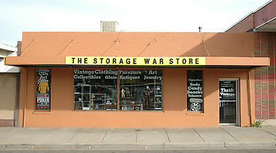Massive thrift & vintage store inventory & ebay store, from storage auctions