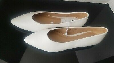 A New Day Camille High Vamp Pointed Toe Ballet Flats New