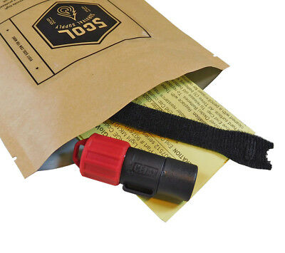 Mk10 LED Finger Light Red Hands Free Military Survival Kit Task Flashlight