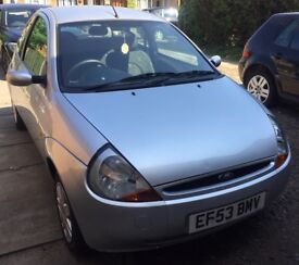 £300 SILVER FORD KA EXCELLENT CONDITION