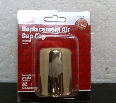 ACE 4231262 Replacement Air Gap Cap, Polished Brass, FREE -