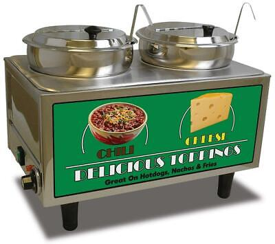 Benchmark 51072 Chili And Cheese Warmer 21 Length X 13 Width X 17 Height...