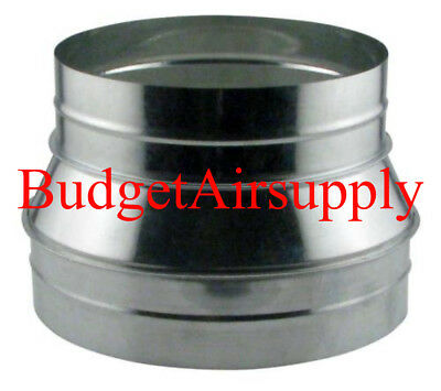 14 x 12 Metal Reducer Duct for Round Flexible duct-
