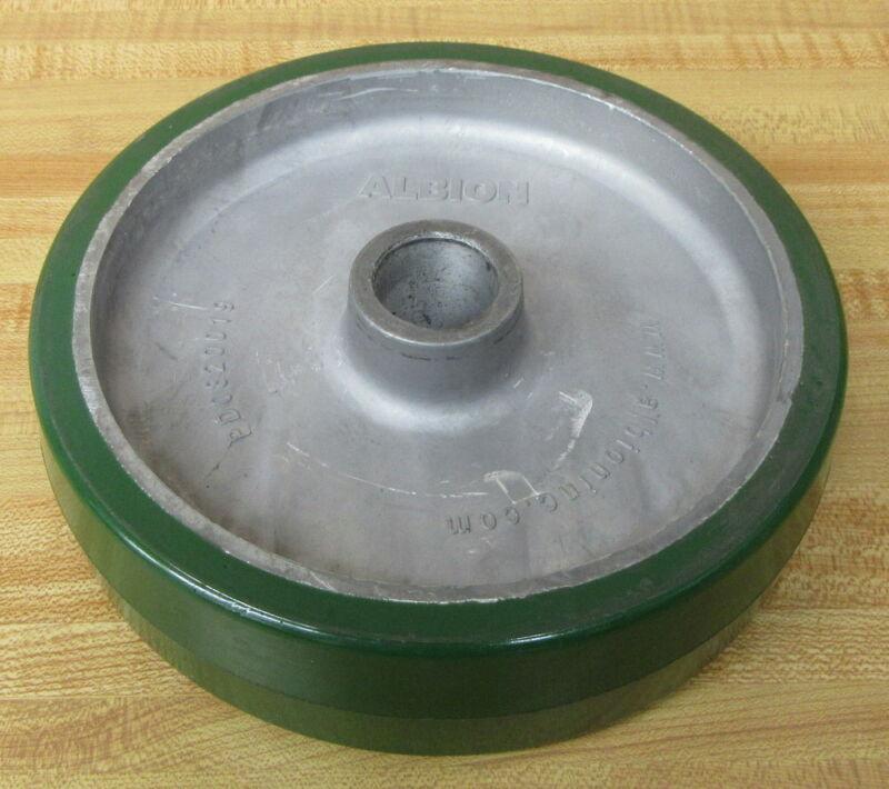 Albion PD0820019 Polyurethane Aluminum Wheel Plain Bore