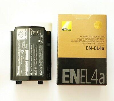 New EN-EL4A Battery For Nikon D2 D2H D2Hs D2x D2xs D3 D3S D3X F6 MH-22 2500mah