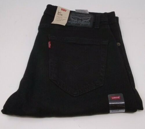 Men's Levi's '511' Skinny Leg Jeans  Black Stretch 33 x 30