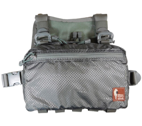 Hill People Gear V2 Kit Bag Gray Ripstop Concealed Carry First Aid Survival SAR