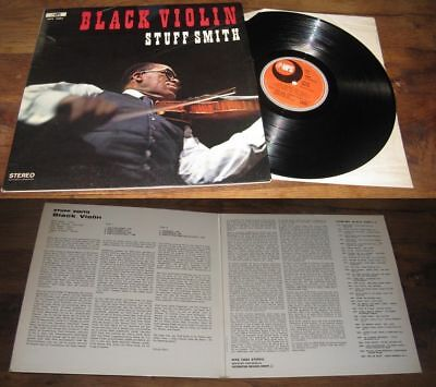 STUFF SMITH - Black Violin LP ORG French Press on MPS Label Jazz Be Bop 67'