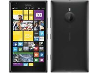 NOKIA LUMIA 1520 32GB UNLOCKED BLACK. FULL HD 20MP REAR FRONT10MP .100% PERFECT CONDITION