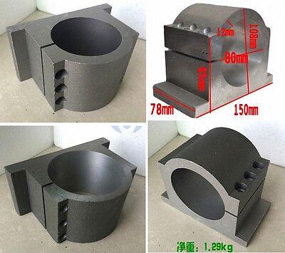 80mm Spindle Motor Mount Bracket Clamp Cast Aluminium Strong Than Aluminium