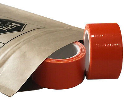 Mini Duct Tape Roll 1 In. X 100 In. Orange 2 Pack 5col Survival Supply