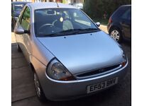ONLY £450! RELIABLE ENGINE FORD KA 2004, PERFECT FIRST CAR FOR NEW DRIVER.