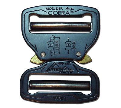 AustriAlpin Cobra Buckle 45mm Aluminum Quick Release Dual Adjustable No Sew