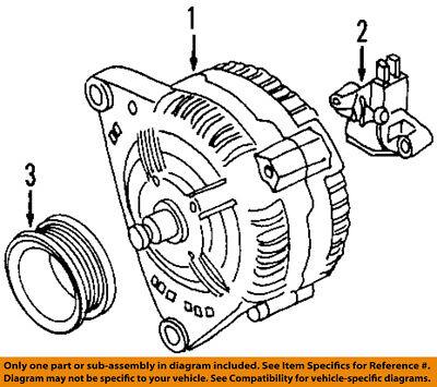 AUDI OEM 00-06 TT Quattro-Alternator Pulley 022903119C
