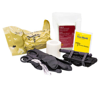Trauma First Aid Downed Officer Kit Tactical Medical Solutions SOFTT-W Olaes -