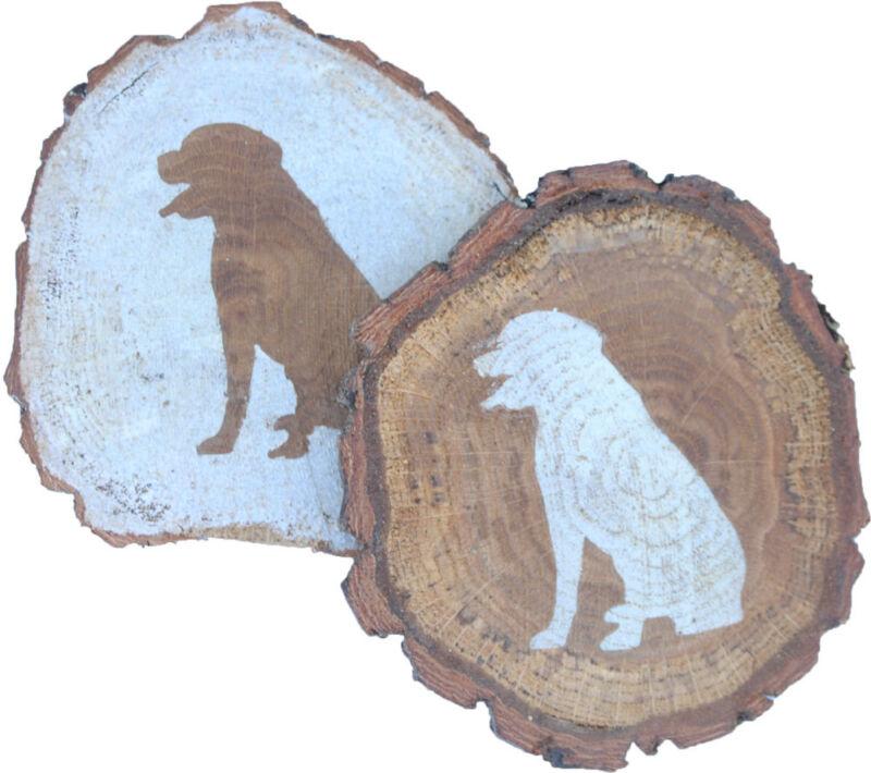 Rottweiler Coaster Reclaimed Wood