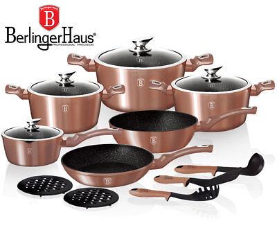 Batterie de cuisine Berlinger Haus 15 pieces/Prix Magasin 299,50- euro!